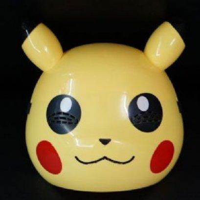 หน้ากากปิกาจูมีไฟกระพริบที่หู แบบที่ 1